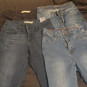 Bundle of High Rise Skinny Jeans Size 26 & Size 3